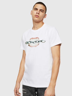 T-DIEGO-B10, Weiß - T-Shirts