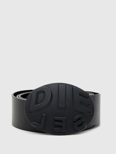 Diesel - B-METALROUND, Noir - Ceintures - Image 1
