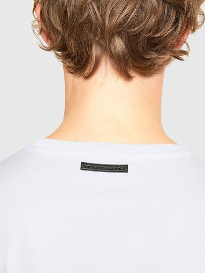 Diesel - T-IEGO, Weiß - T-Shirts - Image 4