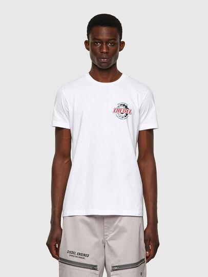 Diesel - T-DIEGOS-K23, White - T-Shirts - Image 1