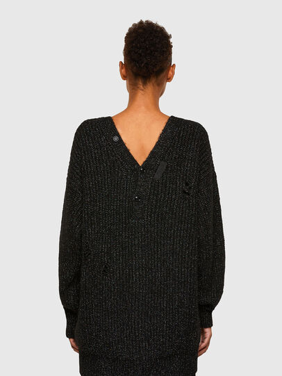 Diesel - M-CORAL, Black - Knitwear - Image 2