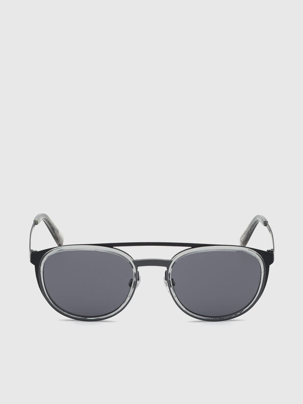 DL0293, Schwarz/Grau - Sonnenbrille