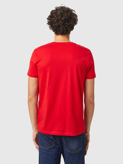 Diesel - T-INY-B2, Rouge - T-Shirts - Image 2