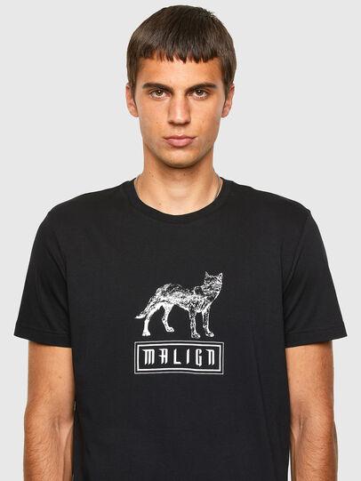 Diesel - T-DIEGOS-N20, Schwarz - T-Shirts - Image 3