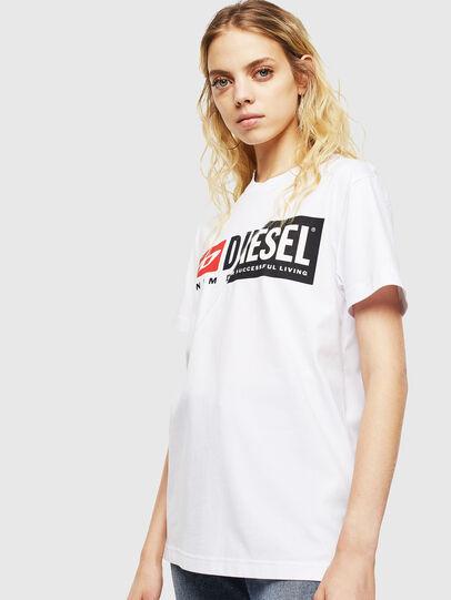 Diesel - T-DIEGO-CUTY, Weiß - T-Shirts - Image 2