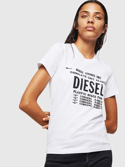 Diesel - T-SILY-ZF, Weiß - T-Shirts - Image 1