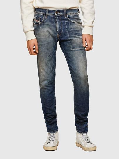 Diesel - D-Strukt 009TX, Bleu Foncé - Jeans - Image 1