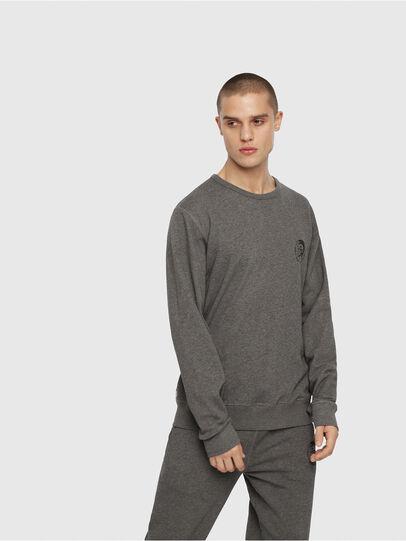 Diesel - UMLT-WILLY, Grau Meliert - Sweatshirts - Image 1