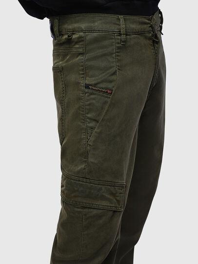 Diesel - D-Krett JoggJeans 069LX, Armeegrün - Jeans - Image 5