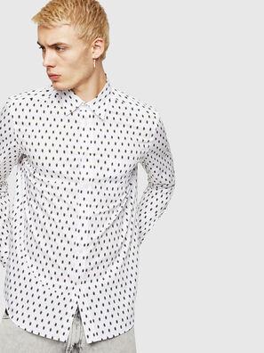 S-VEN-SKULL, Weiß - Hemden