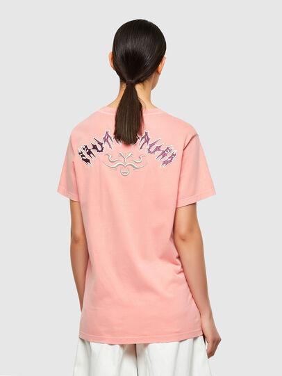 Diesel - T-DARIA-A3, Rose - T-Shirts - Image 2