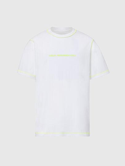 Diesel - T-JUSEAM, Weiß - T-Shirts - Image 1