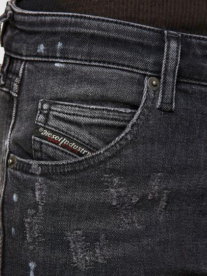 Diesel - Babhila 009JN, Schwarz/Dunkelgrau - Jeans - Image 3