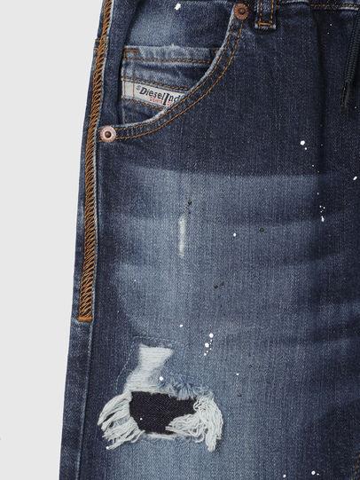 Diesel - KROOLEY-NE-J SH, Bleu Foncé - Shorts - Image 3