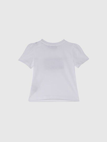 Diesel - TRIDGEB, Blanc - T-shirts et Hauts - Image 2