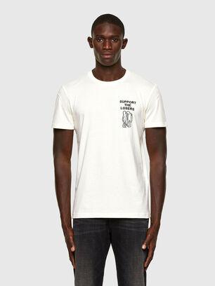 T-DORYMO-A1, Bianco - T-Shirts