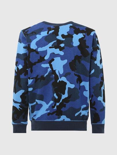 Diesel - UMLT-WILLY, Blau - Sweatshirts - Image 2