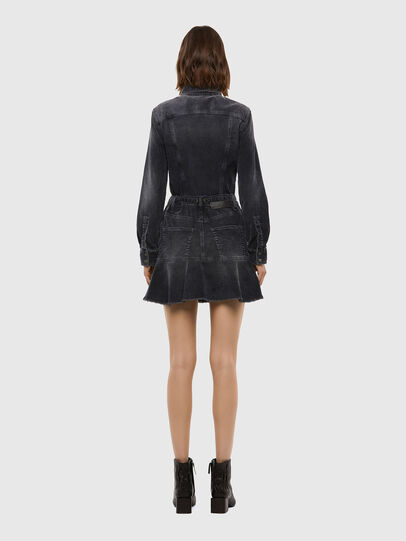 Diesel - D-SHAY-A, Black - Dresses - Image 2