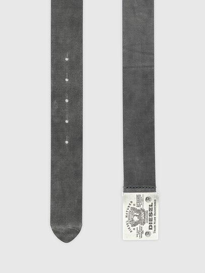 Diesel - B-FILIN, Black - Belts - Image 3