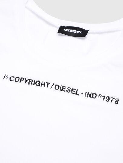 Diesel - TFELIX, Weiß - T-Shirts und Tops - Image 3