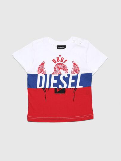 Diesel - TRICKYB, Weiß/Rot/Blau - T-Shirts und Tops - Image 1