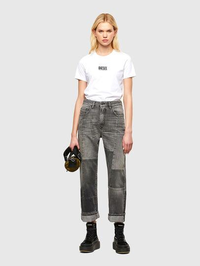 Diesel - T-SILY-SMALLOGO, Blanc - T-Shirts - Image 4