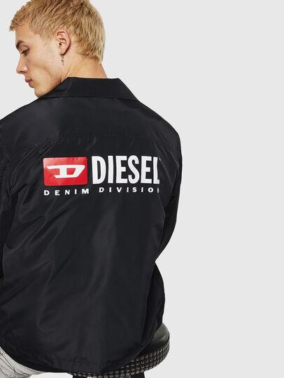 Diesel - J-ROMAN-P, Schwarz - Jacken - Image 2