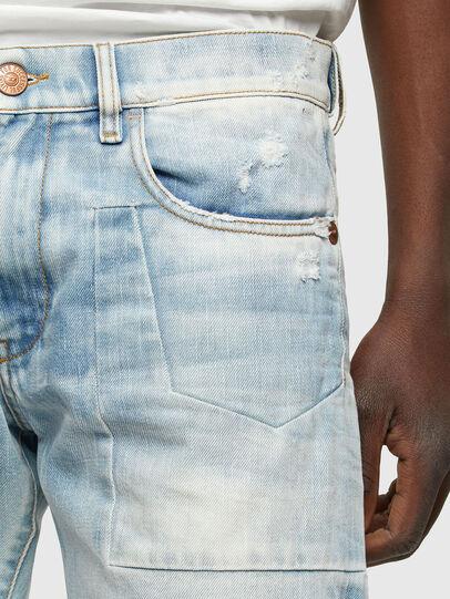 Diesel - D-Strukt 009TN, Blu Chiaro - Jeans - Image 4