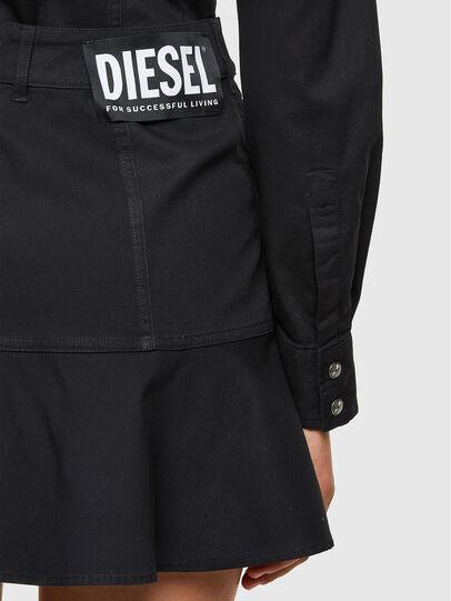 Diesel - D-SHAY, Black - Dresses - Image 5
