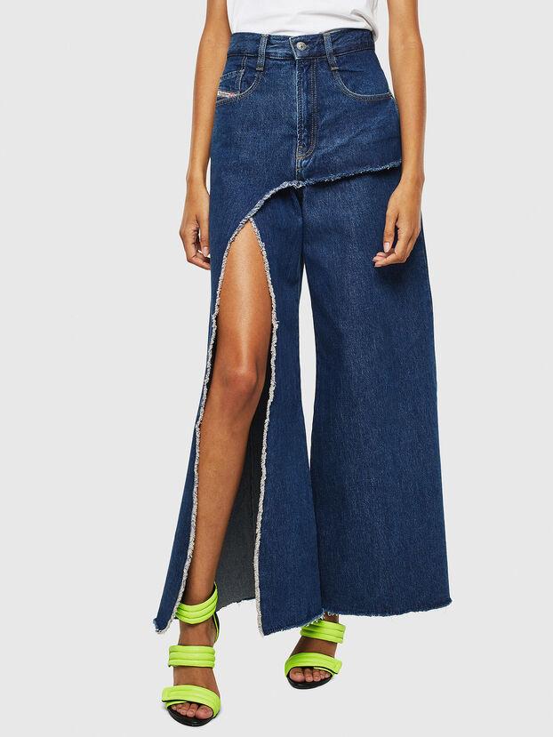 D-Izzier 0LAXA, Dunkelblau - Jeans