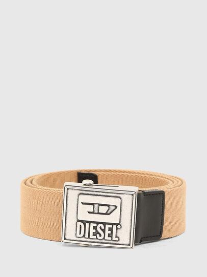Diesel - B-METALTAPE, Jaune - Ceintures - Image 1