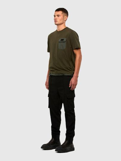 Diesel - T-ARMI, Olivgrün - T-Shirts - Image 5