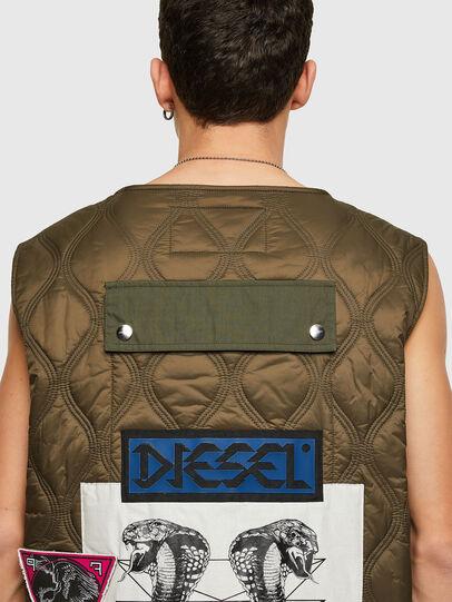 Diesel - J-LUKI, Vert Olive - Vestes - Image 4