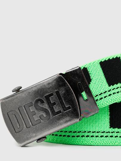 Diesel - BOXXY, Vert Fluo - Ceintures - Image 2