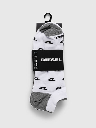 Diesel - SKM-GOST-THREEPACK, Grau/Weiß - Strümpfe - Image 2