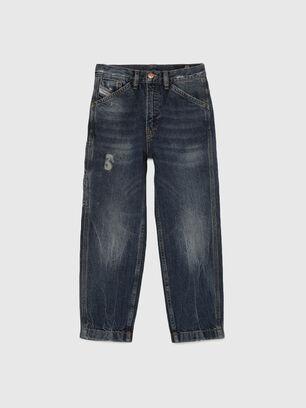 D-FRANKY-J, Bleu Foncé - Jeans