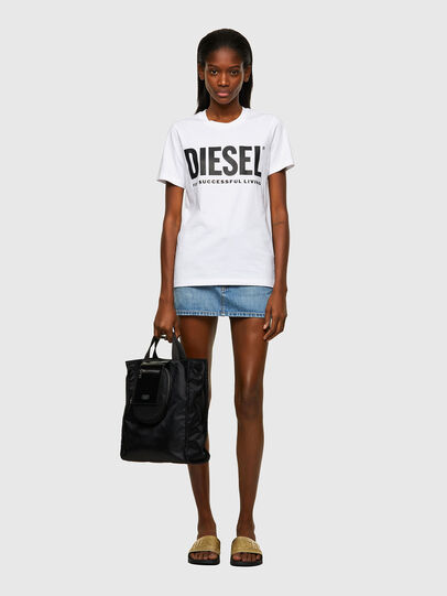 Diesel - T-SILY-ECOLOGO, Blanc - T-Shirts - Image 4