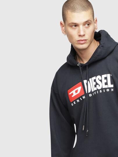 Diesel - S-DIVISION, Dunkelblau - Sweatshirts - Image 3