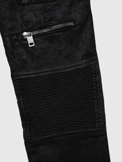 Diesel - D-DERROT-SP-J JOGGJEANS, Schwarz - Jeans - Image 4