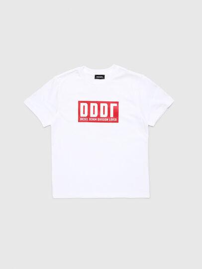 Diesel - TJUSTA9, Weiß - T-Shirts und Tops - Image 1