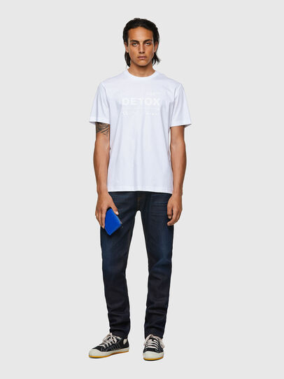 Diesel - T-JUST-B63, Blanc - T-Shirts - Image 4
