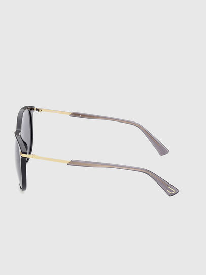 Diesel - DL0353, Black/Yellow - Sunglasses - Image 3