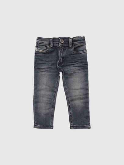 Diesel - SLEENKER-B JOGGJEANS-N, Blu Scuro - Jeans - Image 1