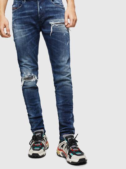 Diesel - Tepphar 0090G, Dunkelblau - Jeans - Image 1