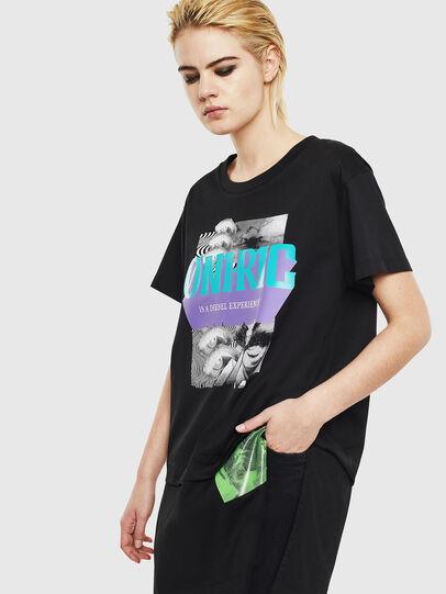 Diesel - T-SHALIE, Schwarz - T-Shirts - Image 1