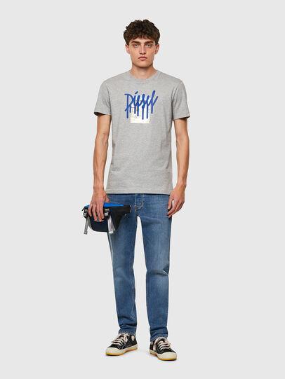 Diesel - MHAIR, Bleu - Sacs ceinture - Image 6