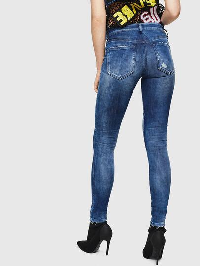 Diesel - Slandy 0090Q, Mittelblau - Jeans - Image 2