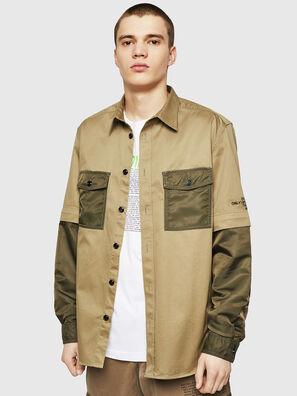 S-KOSOV, Armeegrün - Hemden