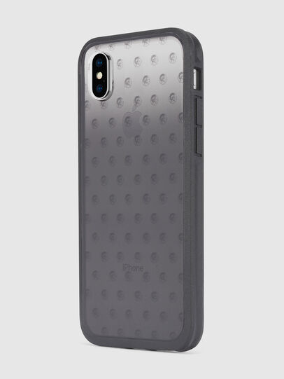 Diesel - MOHICAN HEAD DOTS BLACK IPHONE X CASE, Schwarz/Grau - Schutzhüllen - Image 6