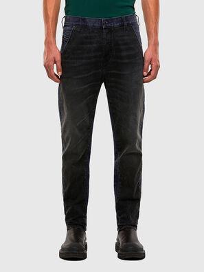 D-Slack 009KZ, Schwarz/Dunkelgrau - Jeans